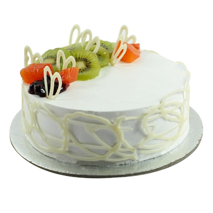 Fresh Vanilla Fruit Cake-0