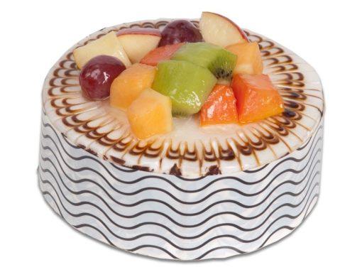 Vanilla Mix Fruit Cake-0