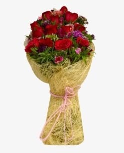 Jute Rose Bouquet-0