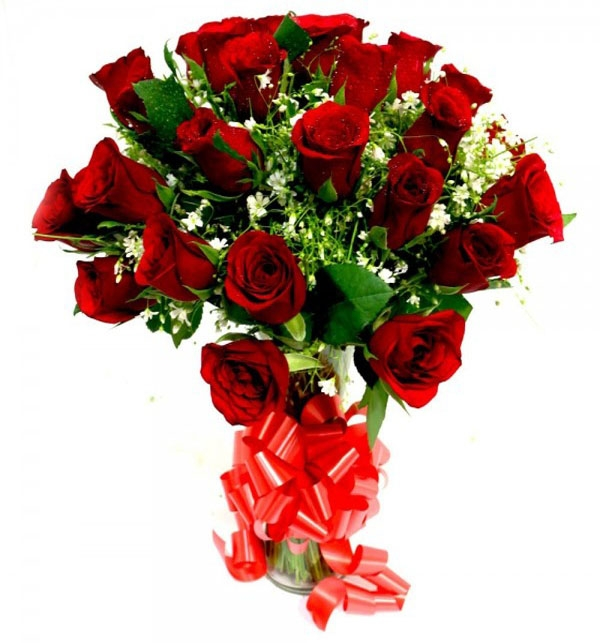 Big bouquet of Red Roses-0