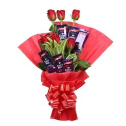 Rosy chocolate Bouquet-0