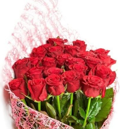 Red Roses Bouquet-0