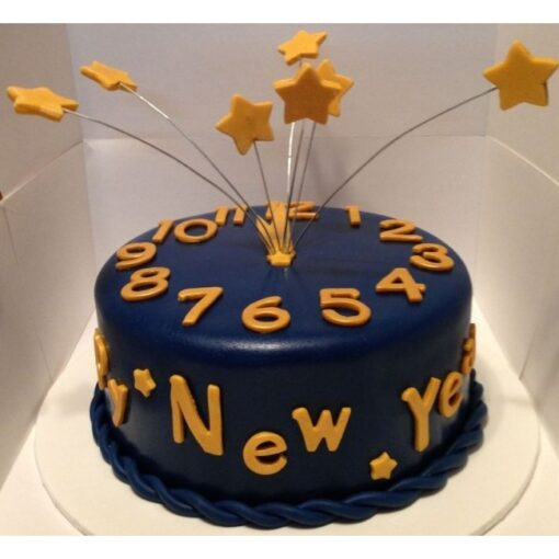 Count Down New year Cake -0
