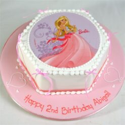Barbie Doll Cake -0