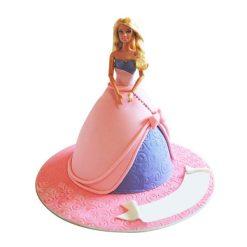 Modern Barbie Cake-0