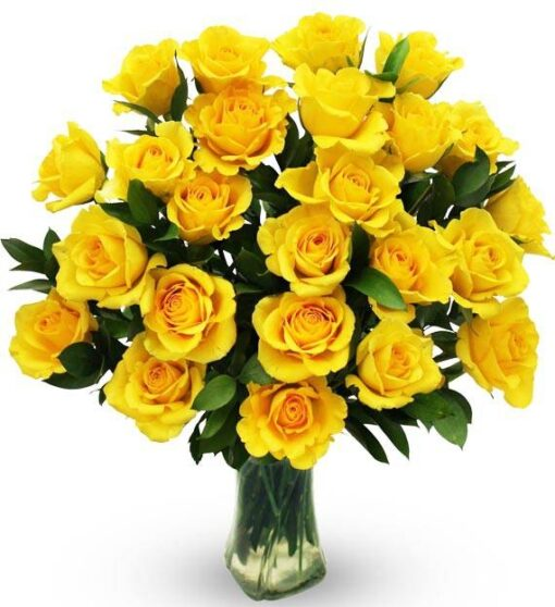 Yellow Sunny Roses-0