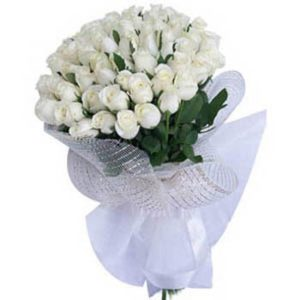 White Rose Bouquet -0