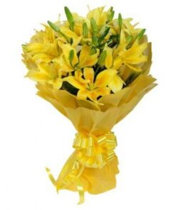 Yellow Blossom Lilies-0