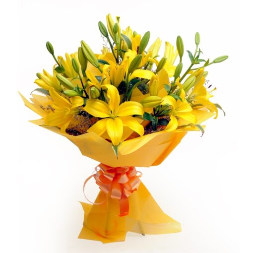 Yellow Lilies-0