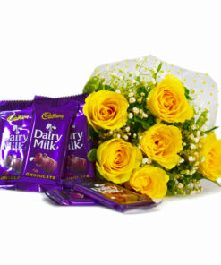 Flowers and Chocolates Combo