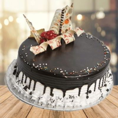 Chocolaty Vanilla Cake-0