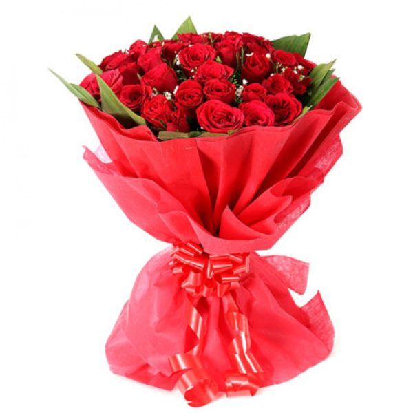 60 Red Roses Bouquet Combination-0