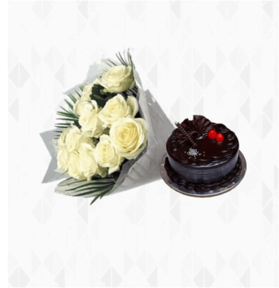 White Roses with Truffle-0