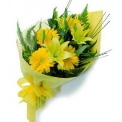 Yellow Flower Bouquet-0