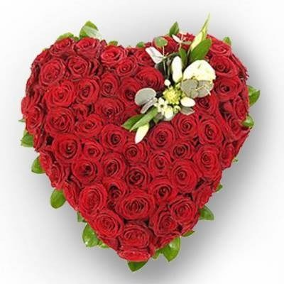 Big Heart Shape Bouquet-0