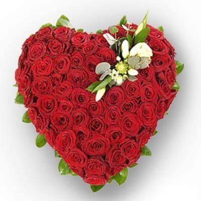 Big Heart Shape Bouquet-0