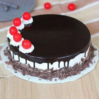 Cherry on Black Forest Cake-0