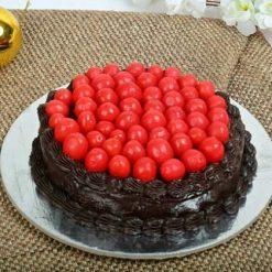 Cherry Truffle Cake-0