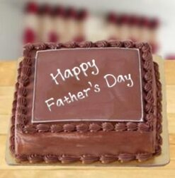 Chocolaty Father's Day Cake-0