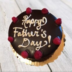 Delicious Father's Day Chocolate Cake-0