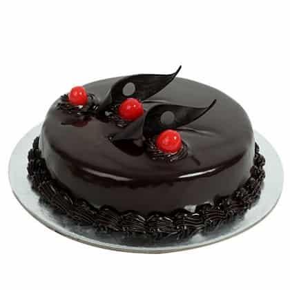 Delicious Truffle Cake-0