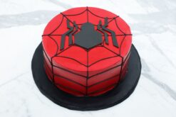 Spiderman Cake-0