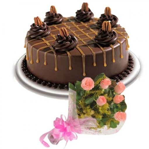 Black Forest with Pink Bunch-0