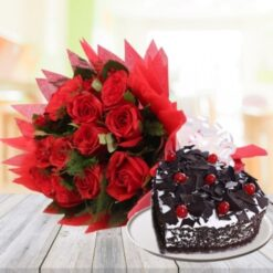 Black Forest with Red Bunch-0