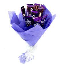 Blue Dairy Milk Bouquet-0