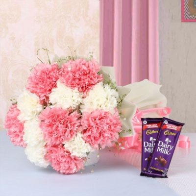 Chocolate Carnations Combo-0