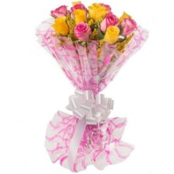 Mixed Roses Bouquet-0