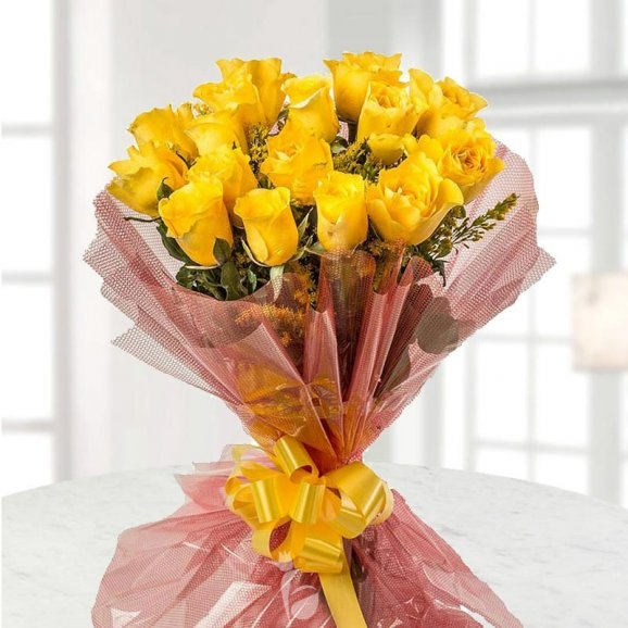 Yellow Rose Bonds-0