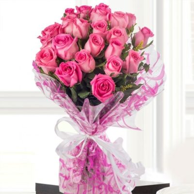 Bouquet of Pink Roses-468