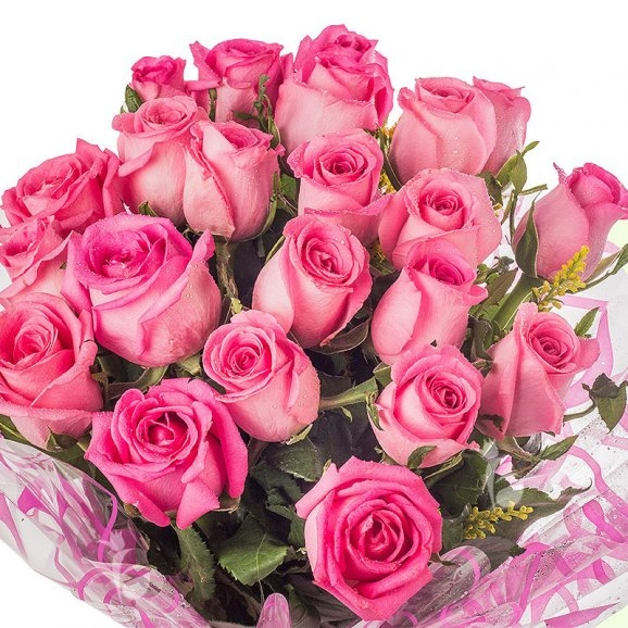 Bouquet of Pink Roses-470