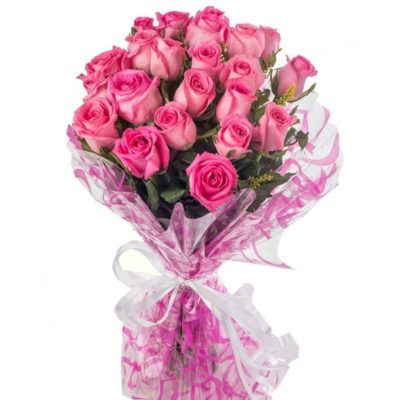 Bouquet of Pink Roses-0