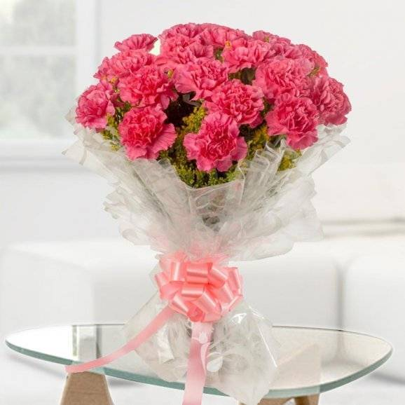 Pink Flowers Bouquet-0