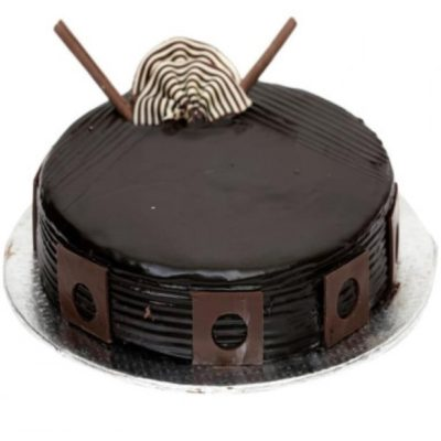 Delicious Dark Chocolate Cake-0