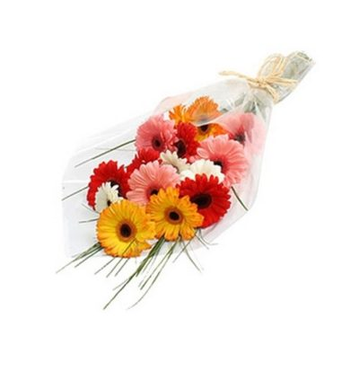 Mixed Beautiful Gerberas-0