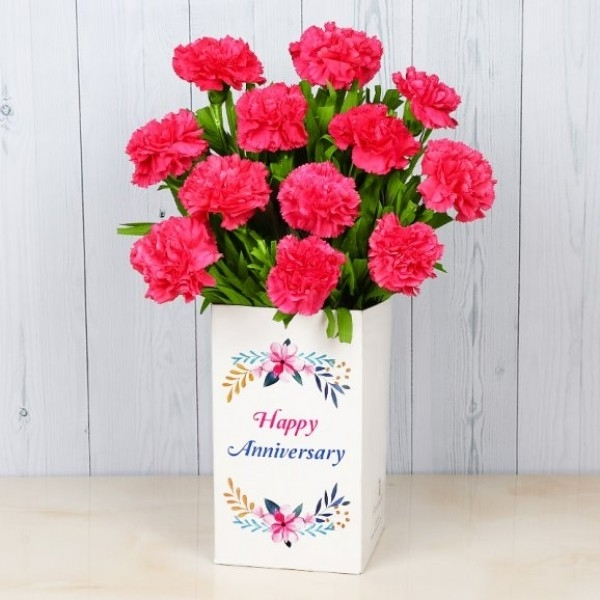 Pink Carnations Bunch-0
