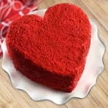 Heart Shaped Red Velvet Cake-0