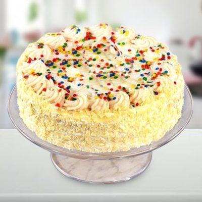 Designer Vanilla cake-0