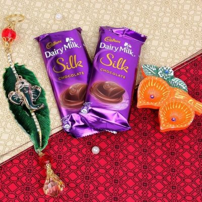 Another Diwali Special Diyas with Chocolates-0