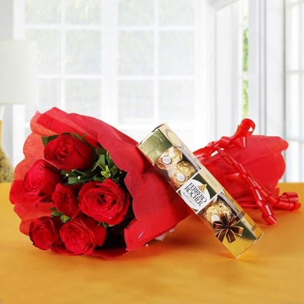Ferraro with Red Roses Pack-0