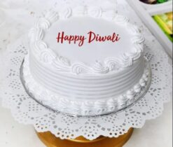 Happy Diwali with Cake