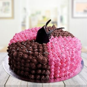 Choco Strawberry Mixture Cake-0