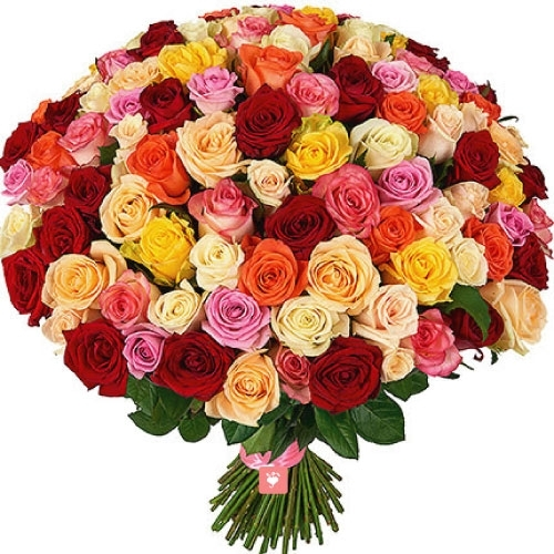 Heavy Roses Bunch-0