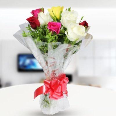 8 Roses Bouquet-0