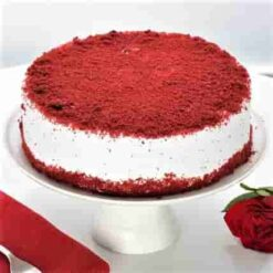 Velvety Red Christmas Cake