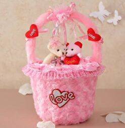 Adorable Pink Basket