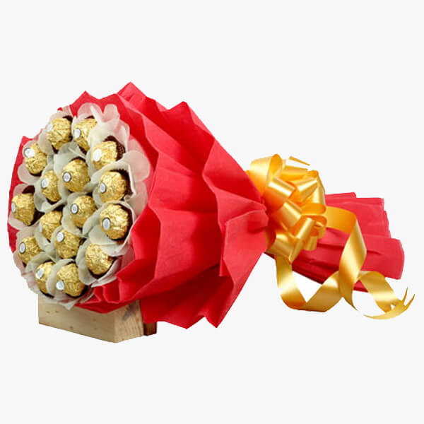 Big Ferrero Bouquet